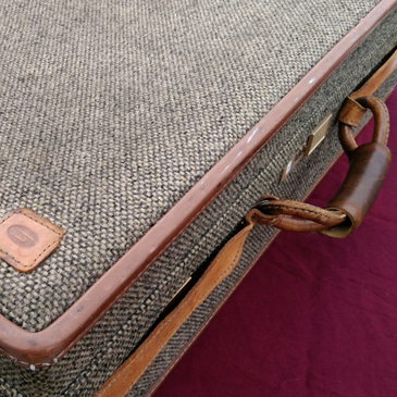 [Hart mann Luggage] ハートマンのヴィンテージツイードトランク
